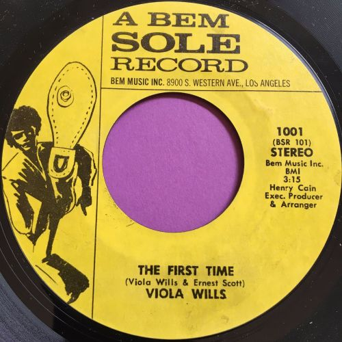 Viola Wills-The first time-Ben soul M-