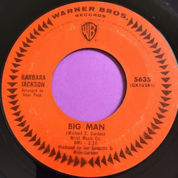 Barbara Jackson-Big Man-WB E+