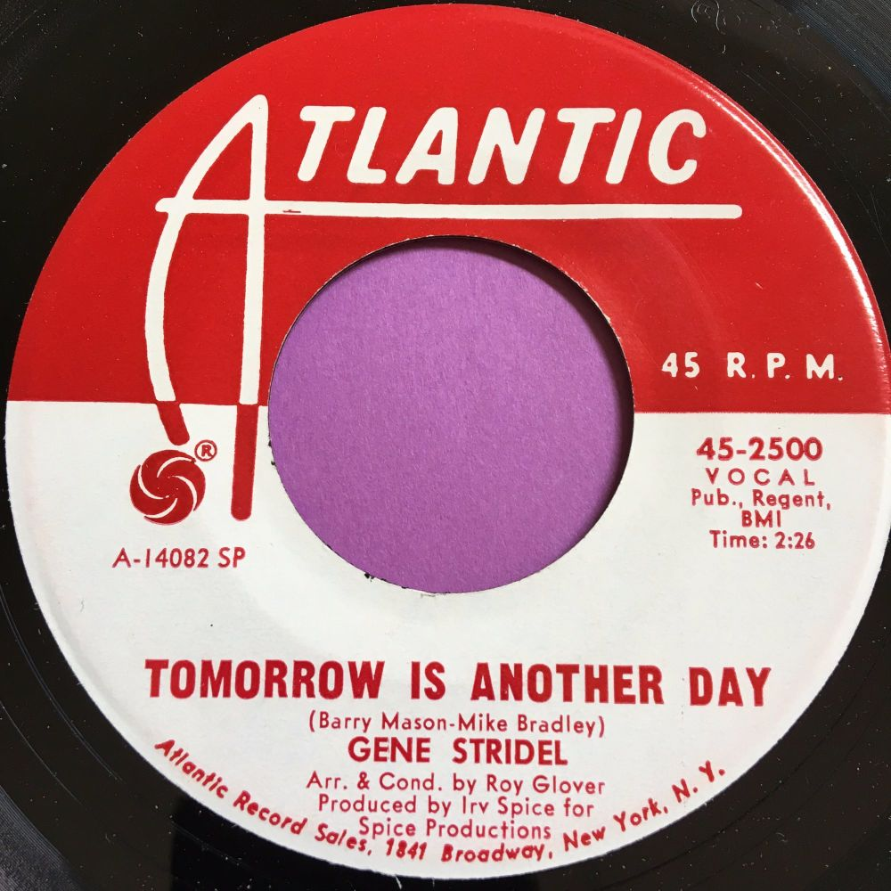 Gene Stridel-Tomorrow is another day-Atlantic WD E+