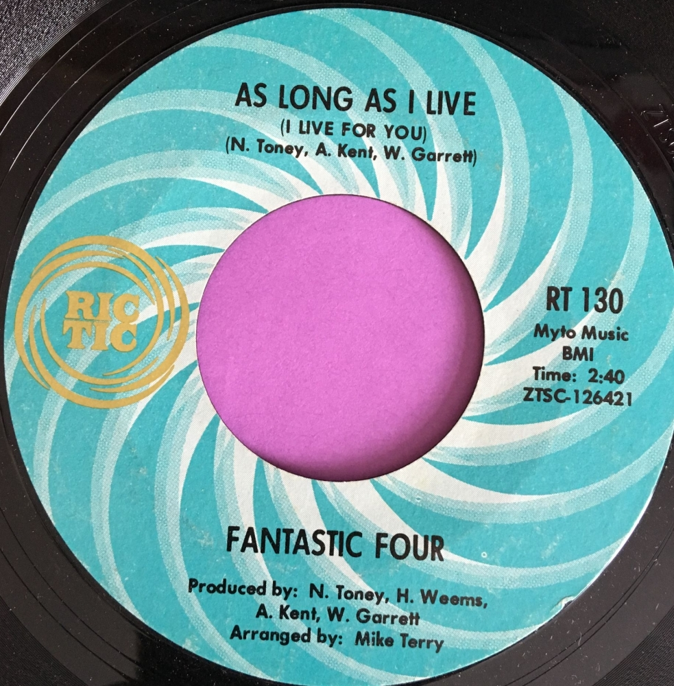Fantastic Four-As long as i live-Rictic E