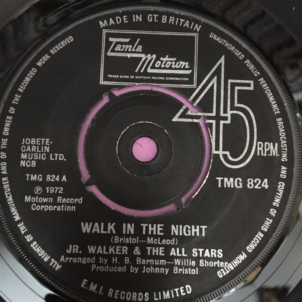 Junior Walker-Walk in the night-UK TMG 824 E