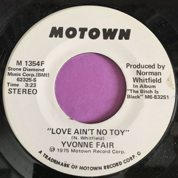 Yvonne Fair-Love ain't no toy-Motown WD E+