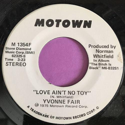Yvonne Fair-Love ain't no toy-Motown WD E+