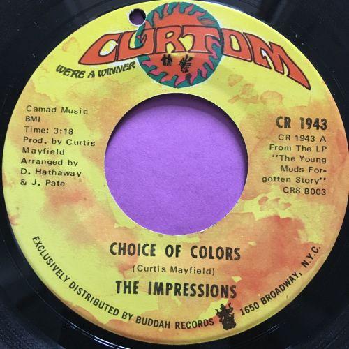 Impressions-Choice of colors-Curtom E