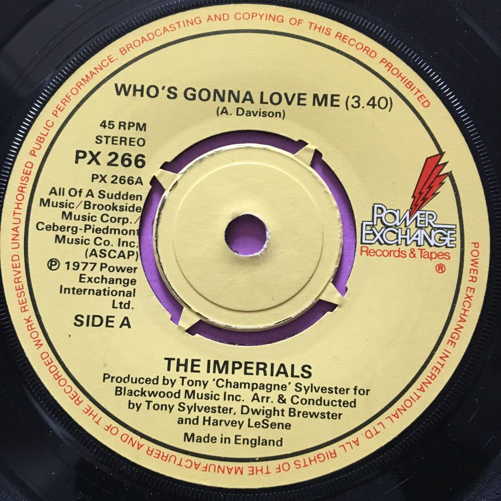 Imperials-Who's gonna love me-UK Power exchange E