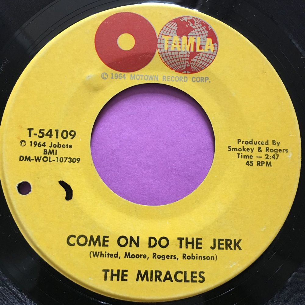 Miracles-Come on do the jerk-Tamla E