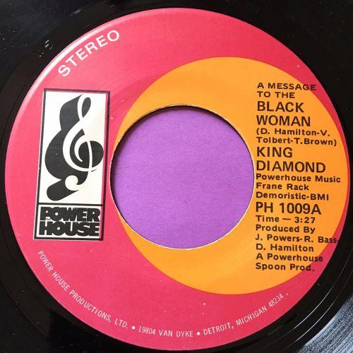 King Diamond-Black Woman-Power house M-