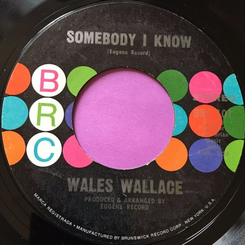 Wales Wallace-Somebody I know-BRC E+