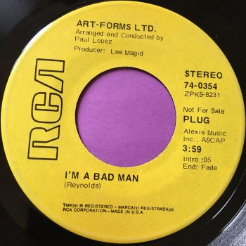 Art-Forms LTD-I'm a bad man-RCA Demo E+