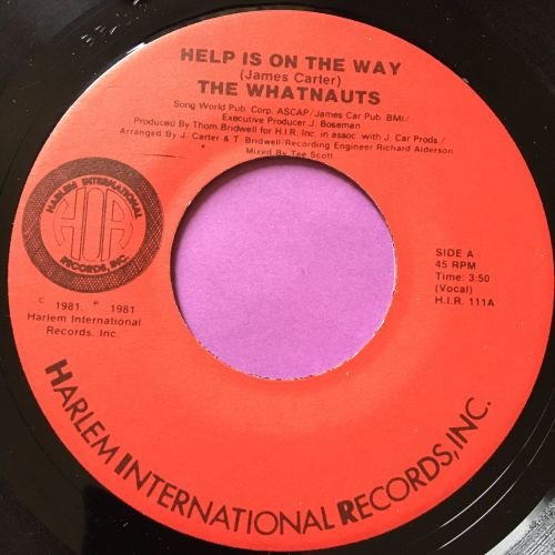 Whatnauts-Help is on the way-Harlem E+