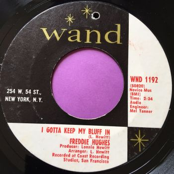 Freddie Hughes-I gotta keep my bluff in-Wand E+