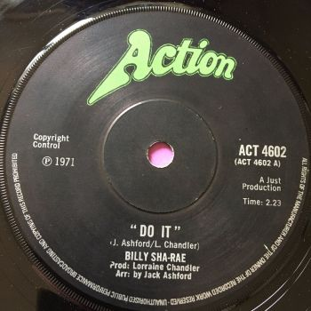 Billy Sha-rae-Do it-UK Action E+