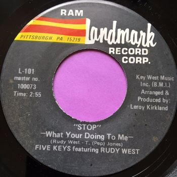 Five Keys-Stop what your doing to me-Landmark E+