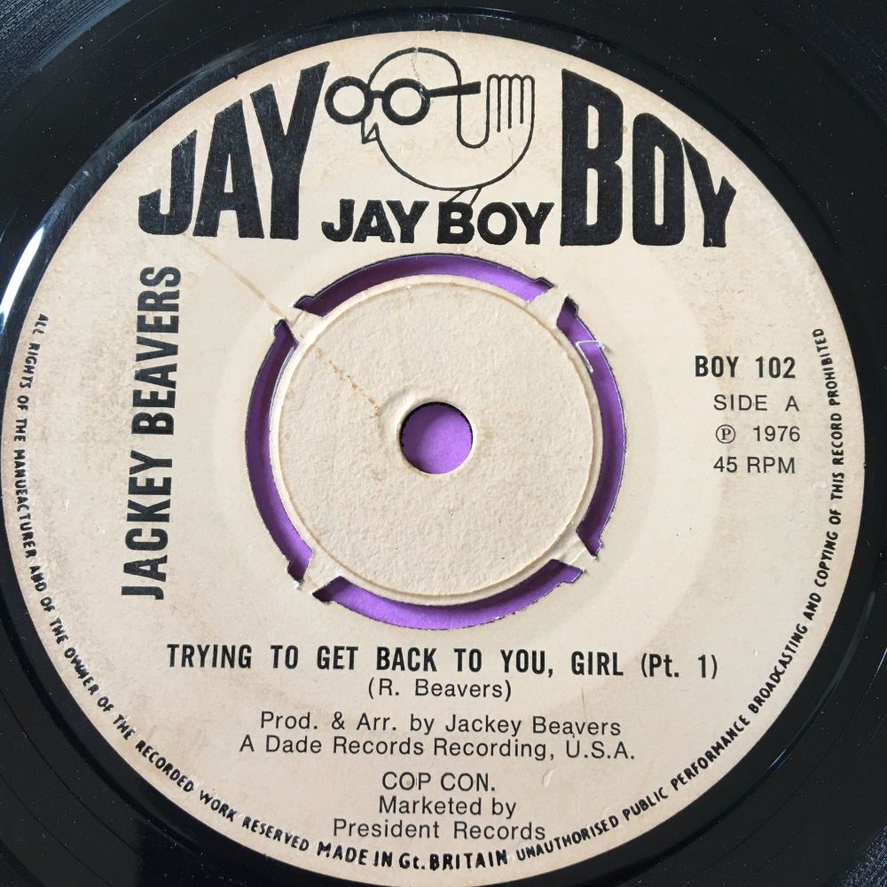 Jackey Beavers-Trying to get back to you girl-UK Jayboy E+