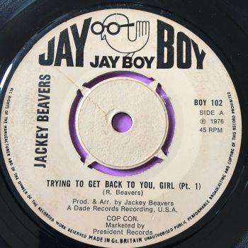 Jackey Beavers-Trying to get back to you girl-UK Jayboy E+