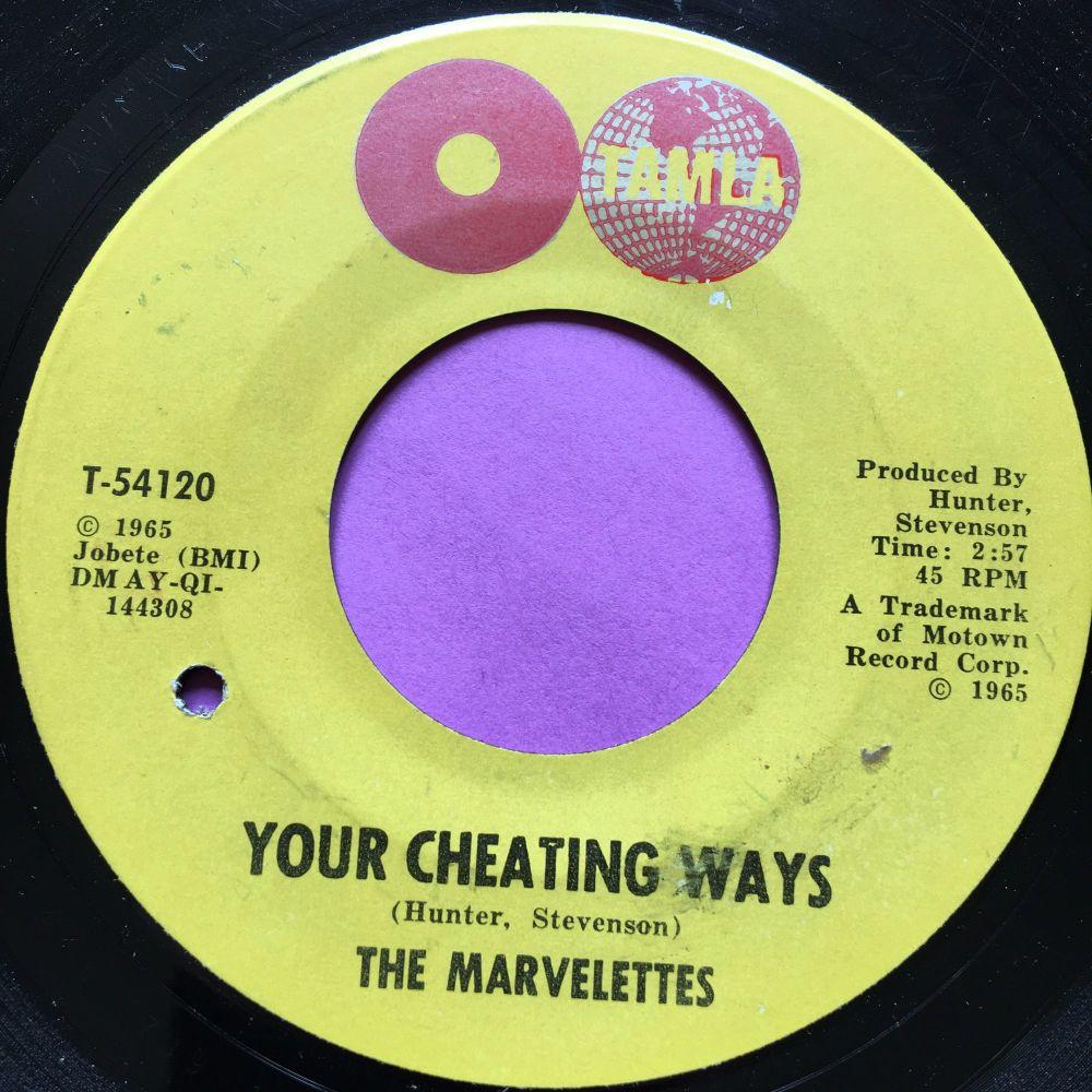 Marvelettes-Your cheating ways-Tamla E+
