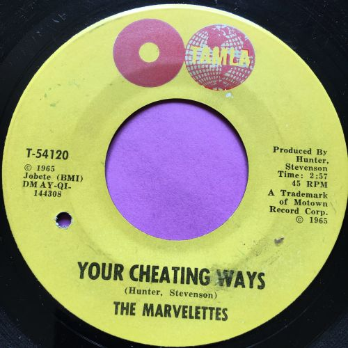 Marvelettes-Your cheating ways-Tamla E+