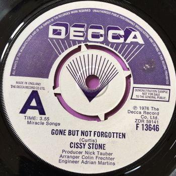 Cissy Stone-Gone but not forgotten-UK Decca Demo E+