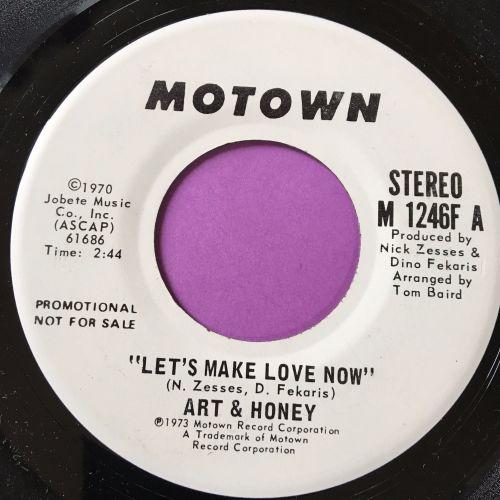 Art & Honey-Let's make love now-Motown WD E+
