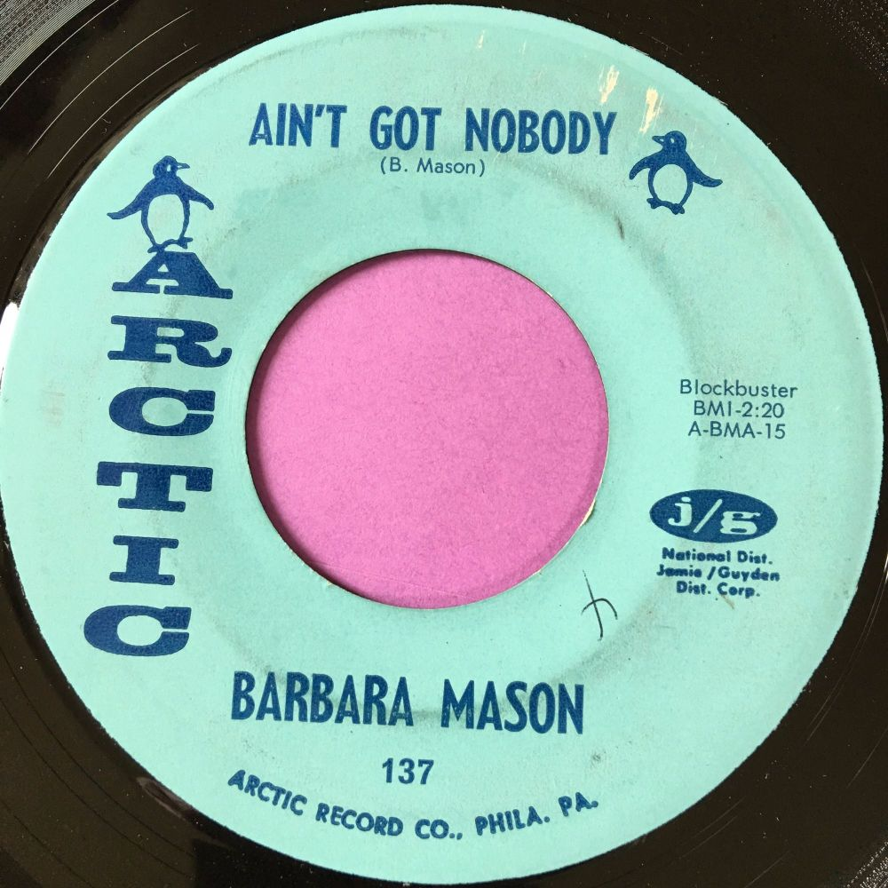 Barbara Mason-Ain't got nobody-Arctic E+