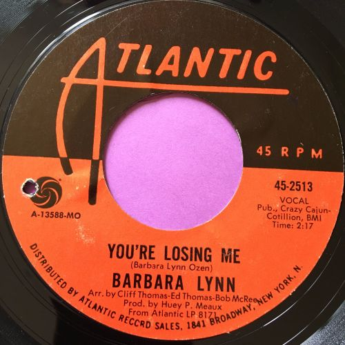 Barbara Lynn-You're losing me-Atlantic E+