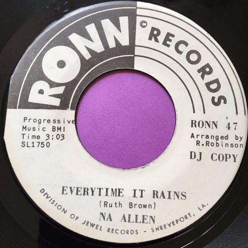 Na Allen-Everytime it rains-Ronn WD E+