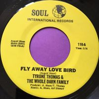 Tyrone Thomas-Fly away love bird-Soul international E+