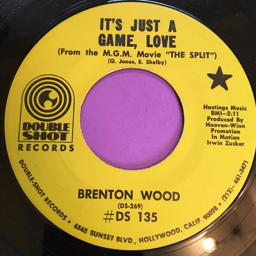 Brenton Wood-It's just a game, love-Double shot M-