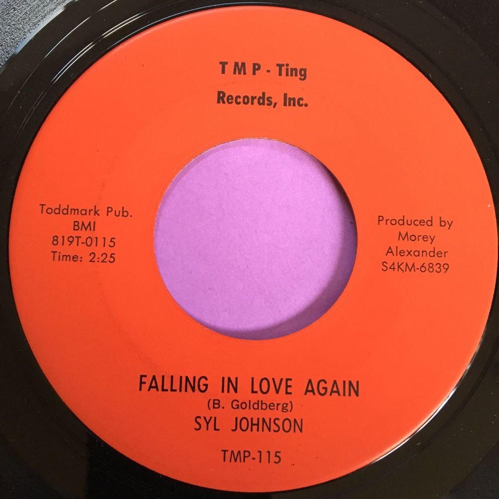 Syl Johnson-Falling in love again-TMP E+