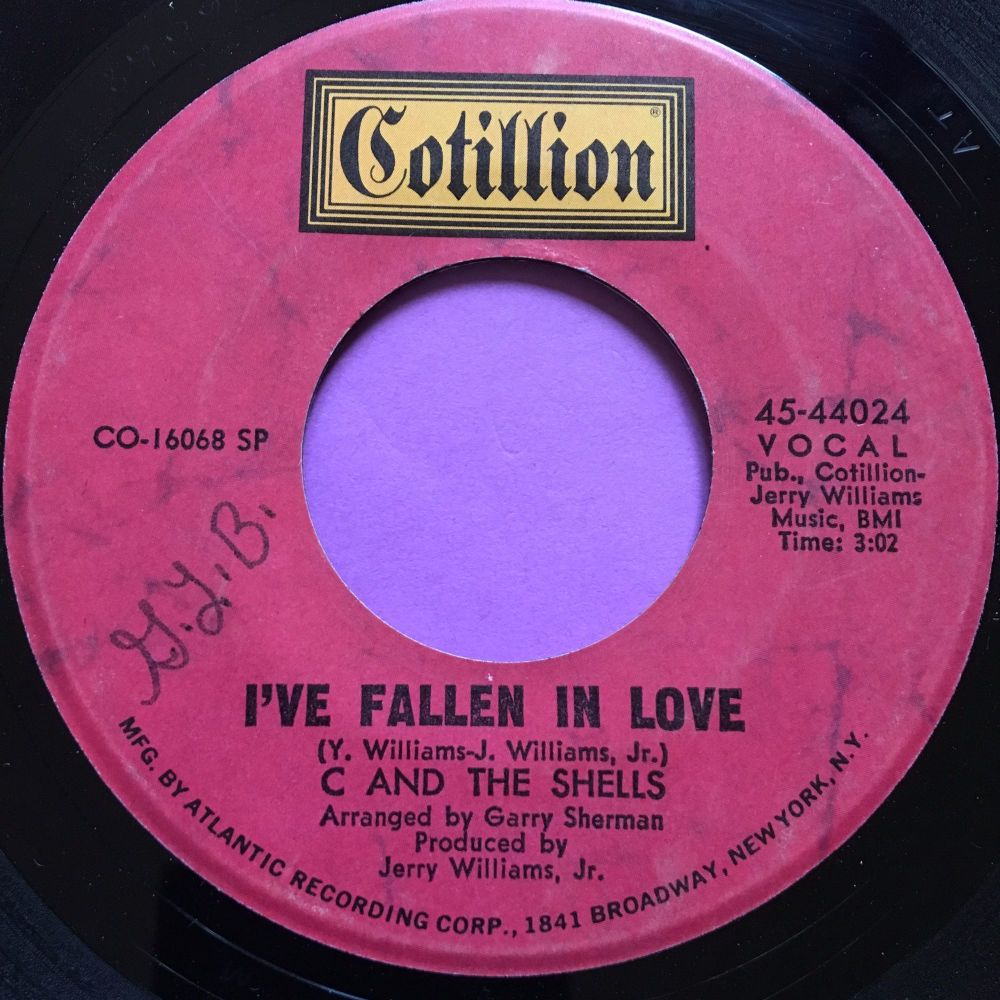 C and the Shells-I've fallen in love-Cotillion wol E+