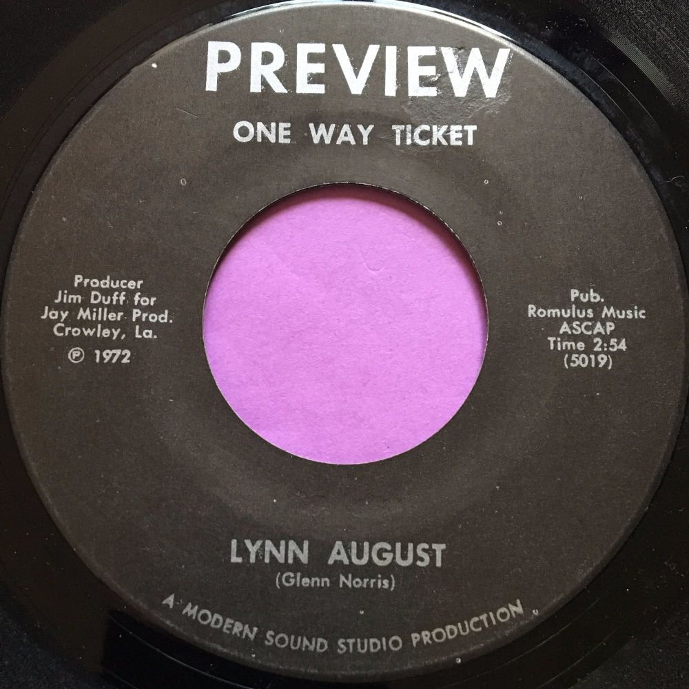 Lynn August-One way ticket-Preview E+