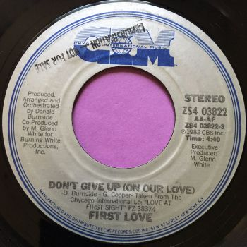 First Love-Don't give up-CIM E