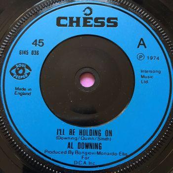 Al Downing-I'll be holding on-UK Chess E