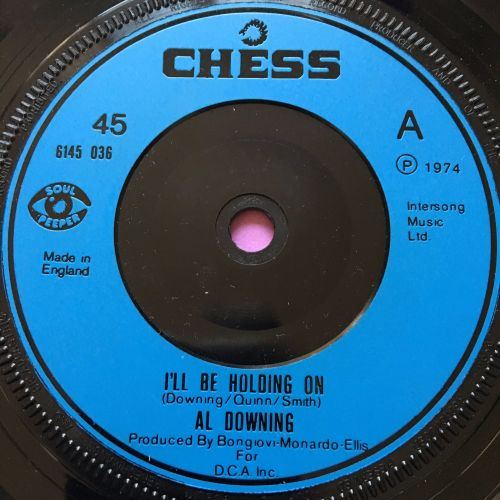Al Downing-I'll be holding on-UK Chess E
