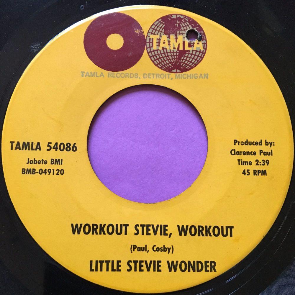 Stevie Wonder-Workout Stevie, workout-Tamla E
