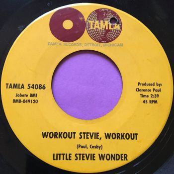 Stevie Wonder-Workout Stevie, workout-Tamla E