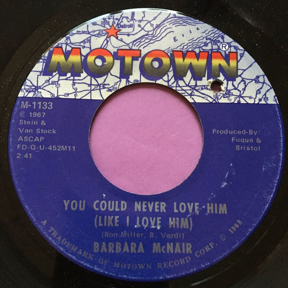 Barbara McNair-You could never love him-Motown E+