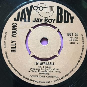 Billy Young-I'm available-JayBoy E+