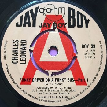 Charles Leonard-Funky driver on a funky bus-UK JayBoy demo E+