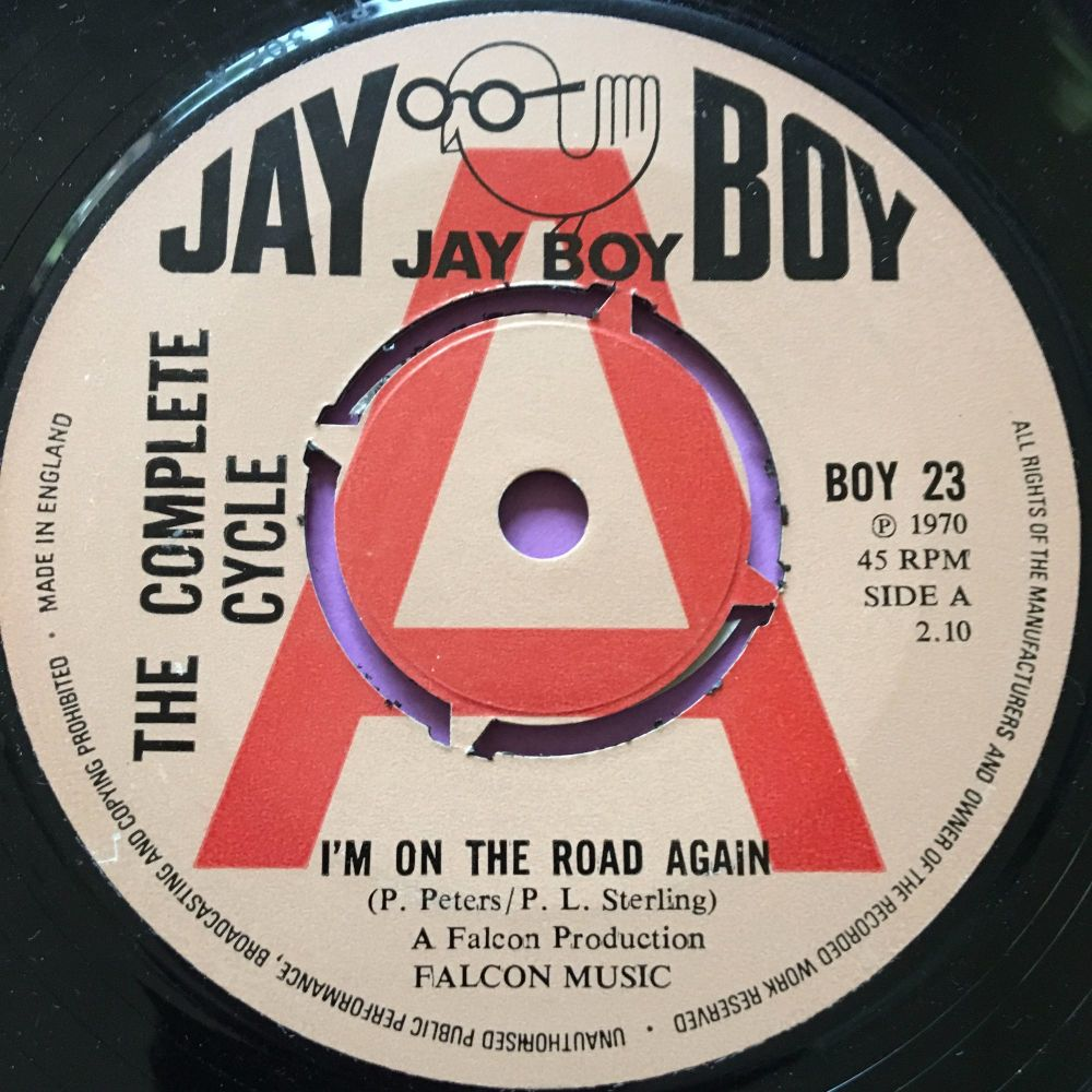 Complete Cycle-I'm on the road again-UK JayBoy Demo E+
