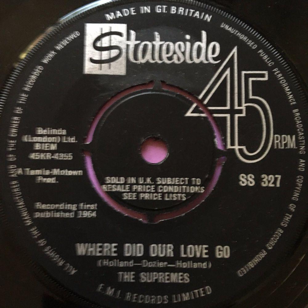 Supremes-Where did our love go-Stateside E