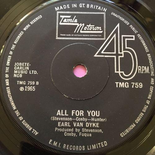 Earl Van Dyke-6x6/All for you-TMG 759 E+