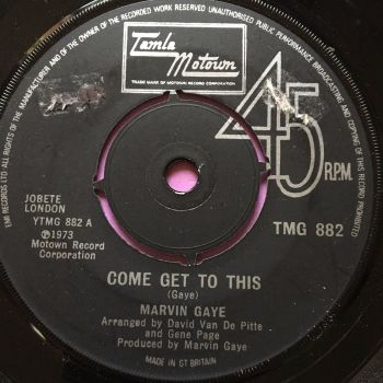 Marvin Gaye-Come get to this-TMG 882 E+