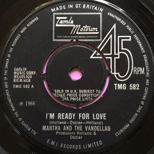 Martha Reeves-I'm ready for love-TMG 582 E+