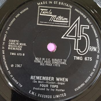 Four Tops-Remember when-TMG 675 E