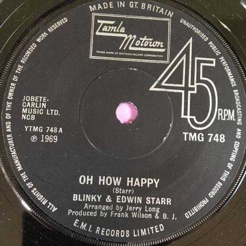 Blinky & Edwin Starr-Oh how happy-TMG 748 E+