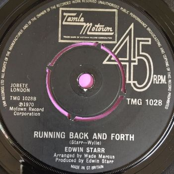 Edwin Starr-Time/Running back and forth-TMG 1028 E+
