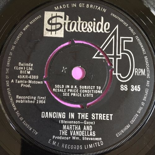 Martha Reeves-Dancing in the street-Stateside vg+
