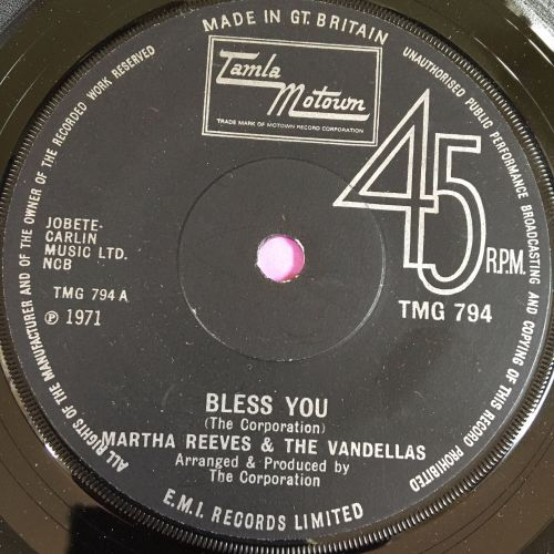Martha Reeves-Bless you-TMG 794 E