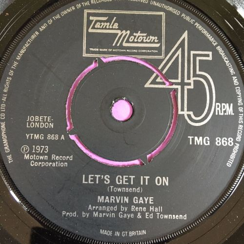 Marvin Gaye-Let's get it on-TMG 868 E